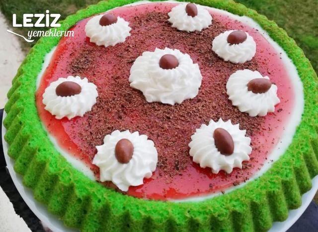 Ispanaklı Tart Kek Nasıl Yapılır