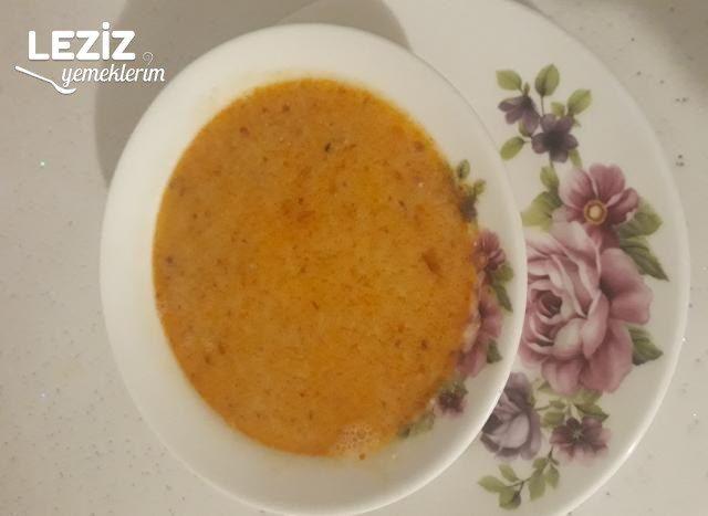 Tarhana Çorbası (Kahramanmaraş Bölgesi)