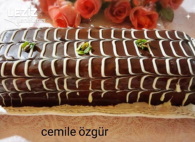 Çikolatalı Bisküvi Pasta Tarifi