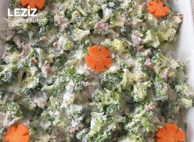 Brokoli Salatası (Çok Kolay)