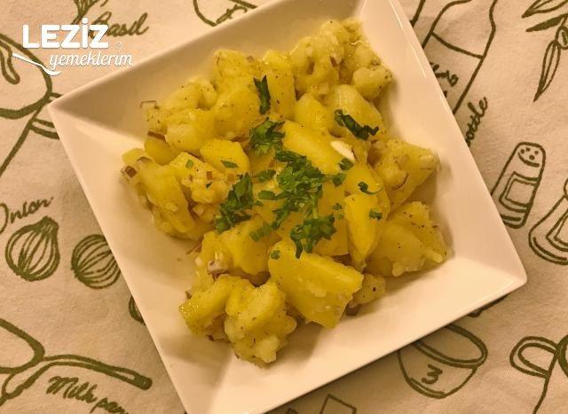 Viyana Usulü Patates Salatası