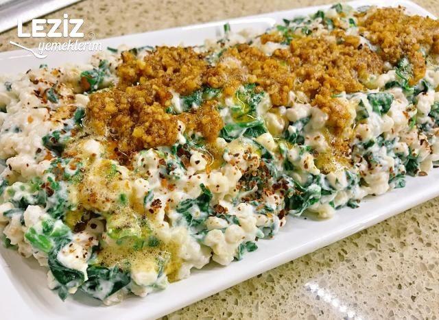Ispanaklı Ve Cevizli Buğday Salatası Tarifi
