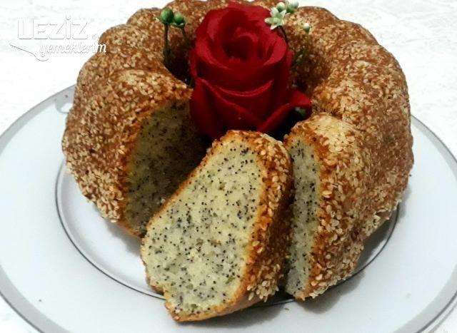 Susam Mantolu Haşhaşlı Kek