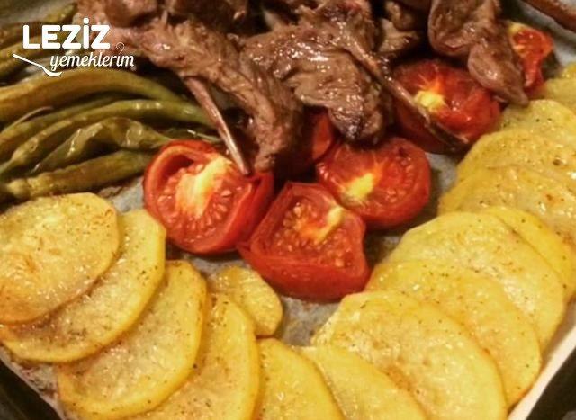 Pirzola Kızartması Ve Fırında Patates Tarifi