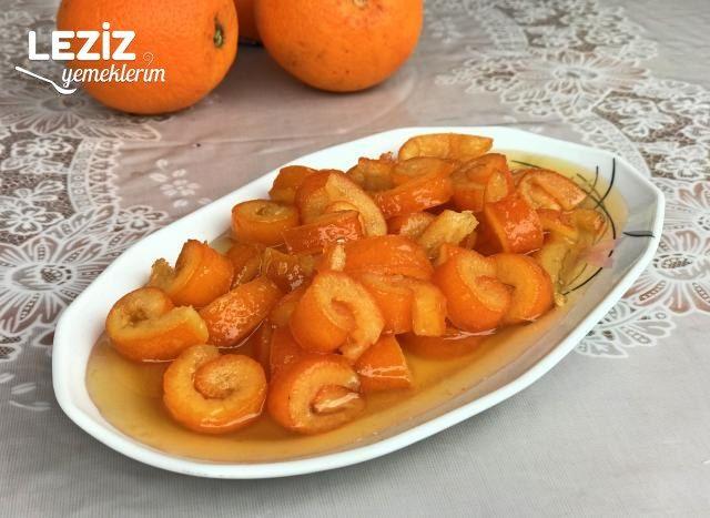 Portakal Kabuğu Reçeli Tarifi, Nasıl Yapılır