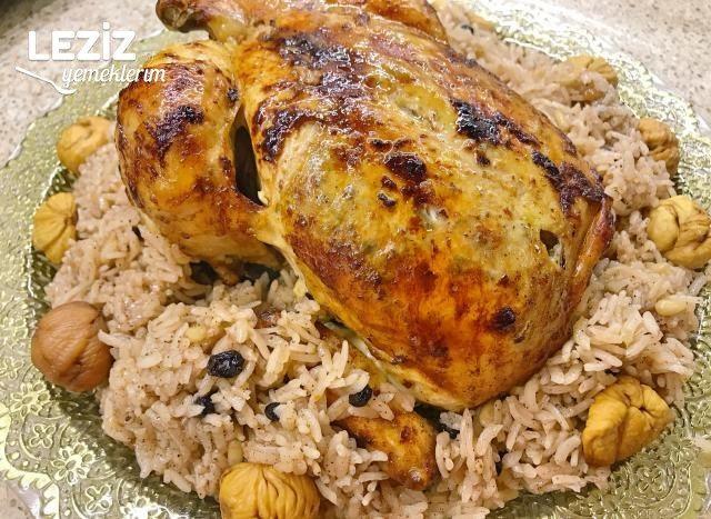 Nefis İç Pilav Eşliğinde Fırında Tavuk