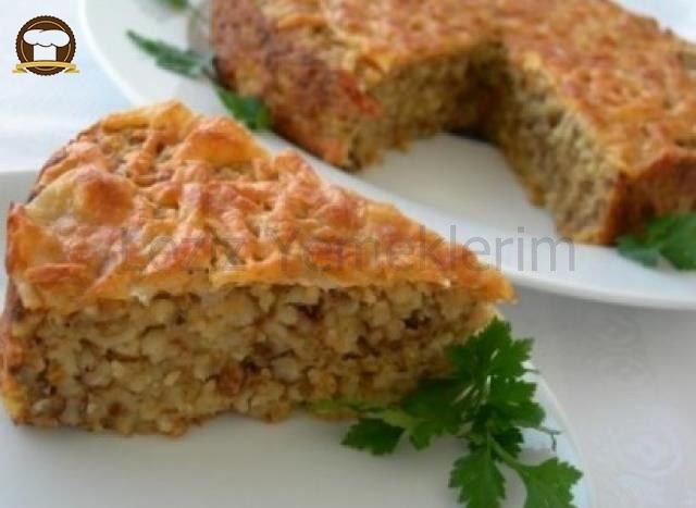 Bulgur Böreği