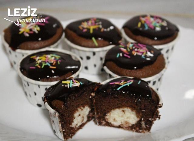 Sürpriz Dolgulu Muffin Tarifi
