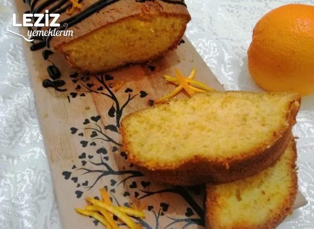 Enfes Portakallı Zerdeçallı Kek