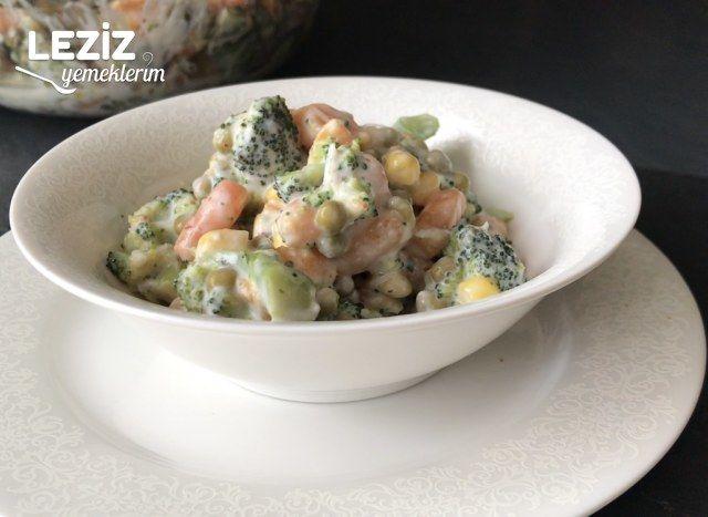 Kolay Brokoli Salatası