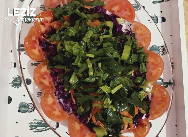 Mevsim Salatası Nasıl Yapılır