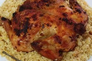 Tereyağlı Bulgur Pilavı İle Kızarmış Tavuk