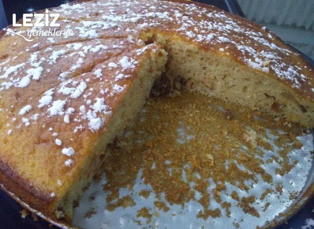 Havuçlu Tarçınlı Kek Nasıl Yapılır