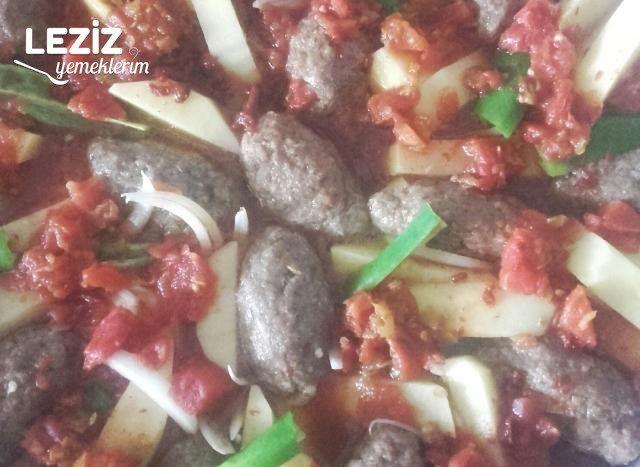 Leziz Fırında Patatesli Köfte Tarifi