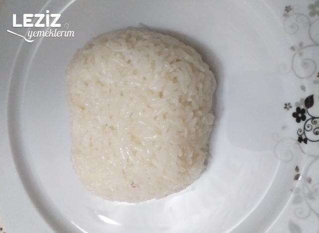 Tam Kıvamında Pirinç Pilavı Yapımı