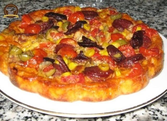 Yufka Pizzası