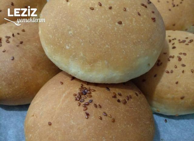Ev Yapımı Hamburger Ekmeği Nasıl Yapılır