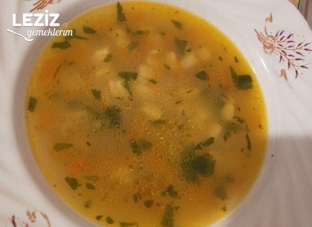 Körili Havuç Çorbası Tarifi (Tavuk Suyuna)
