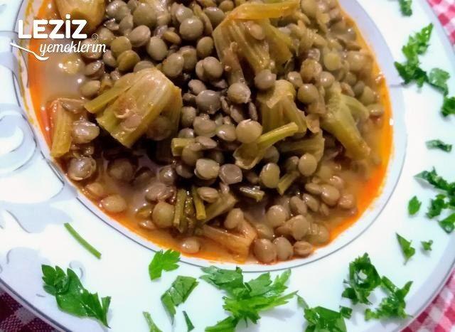 Ispanaklı Yeşil Mercimek Yemeği