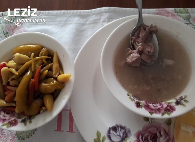 Kelle Çorbası Tarifi