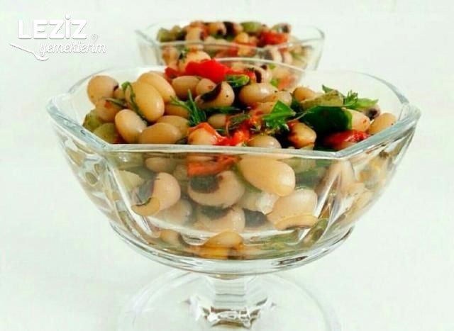 Leziz Kuru Börülce Salatası