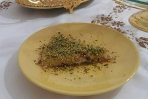 Peynirli Fıstıklı Kadayıf (Künefe)