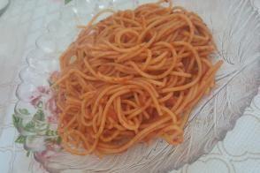 Salçalı Spagetti