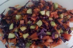 4 Malzemeli Salata