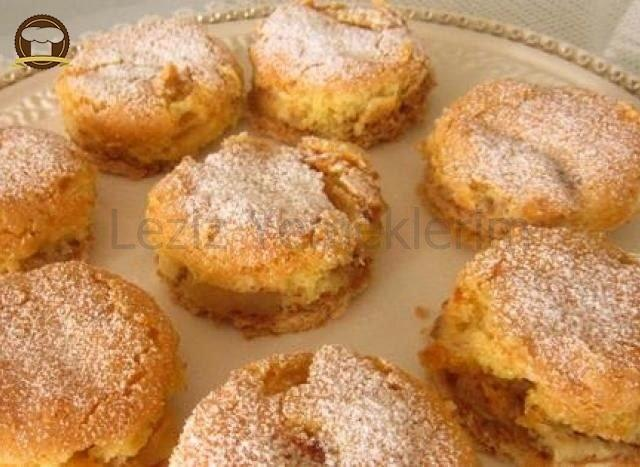 Elmalı Bisküvi Pastası