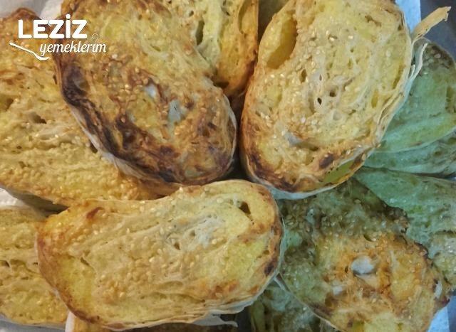 Nefis Patatesli Rulo Börek Yapılışı