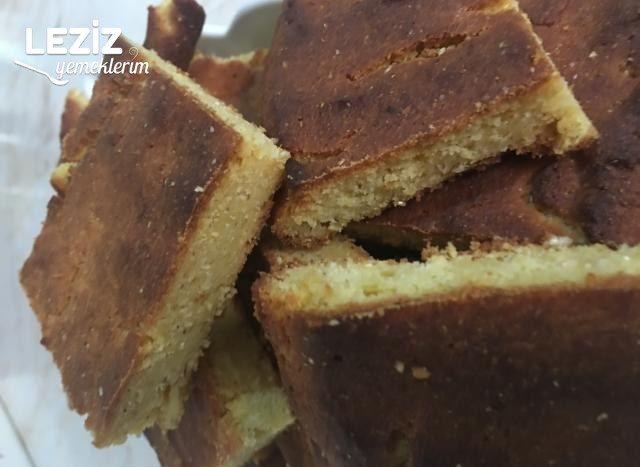 Kurabiye Tadında Mısır Ekmeği