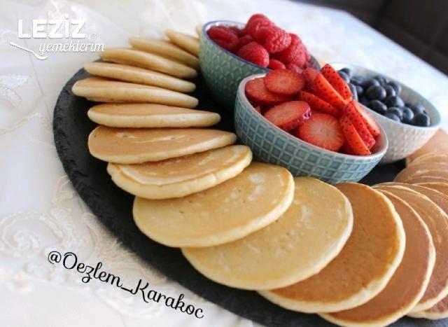 Kahvaltılık Pankek Yapımı