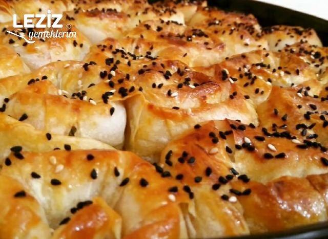 Patatesli Gül Böreği (İster Pişir İster Buzluğa Koy)