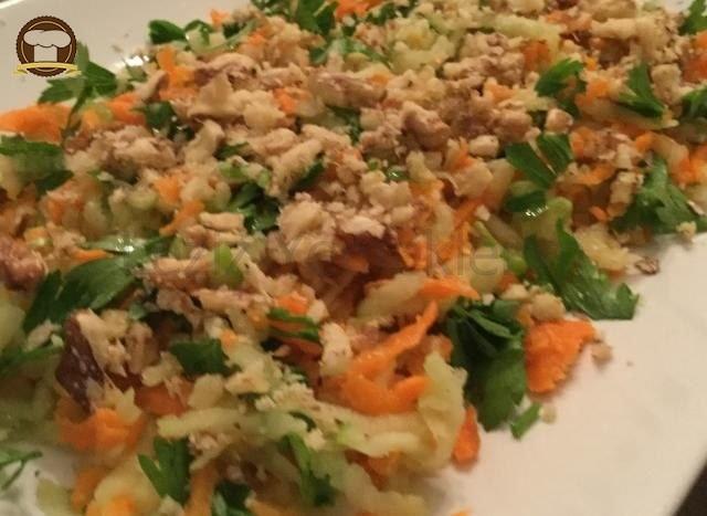 Yeşilelmalı Havuç Salatası