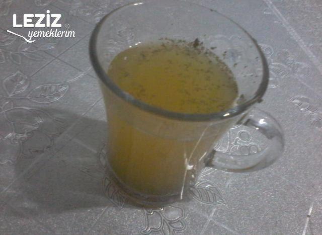 Gribe Karşı Nane Limon Şifa Çayı