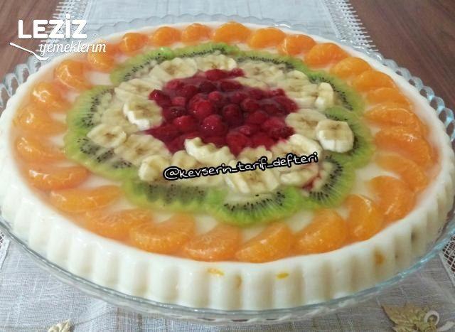 Meyveli Jöleli Tart Pasta