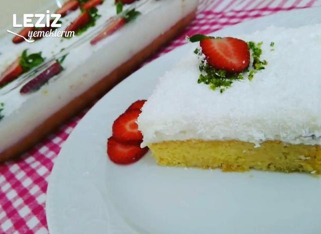 En Hafif Tatlı Gelin Pastası (Videolu)