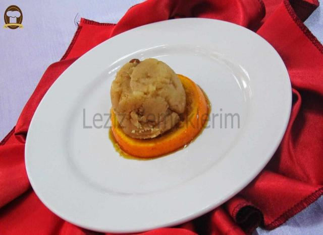 Portakallı Un Helvası