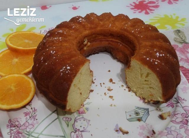 Portakallı Kek (Aşırı Kabaran)