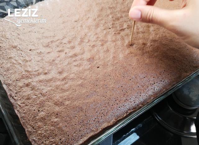 Borcamda Pandispanya Yumuşaklığında Kakaolu Kek