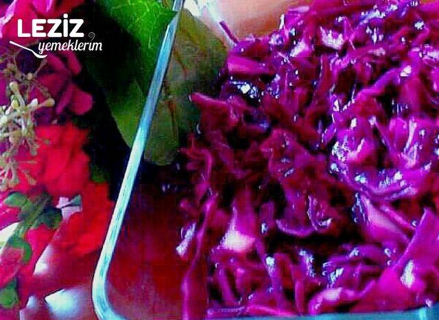 Salatalar İçin Pratik Mor Lahana