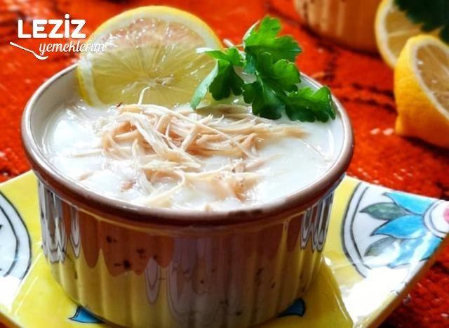 Tavuklu Yoğurt Çorbası