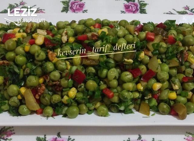 Nefis Bezelye Salatası
