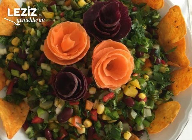Meksika Fasulye Salatası Nasıl Yapılır?