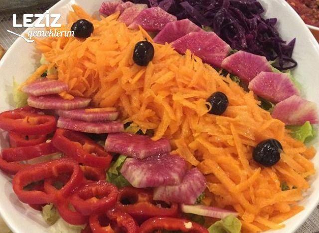 Kış İçin Mevsim Salatası