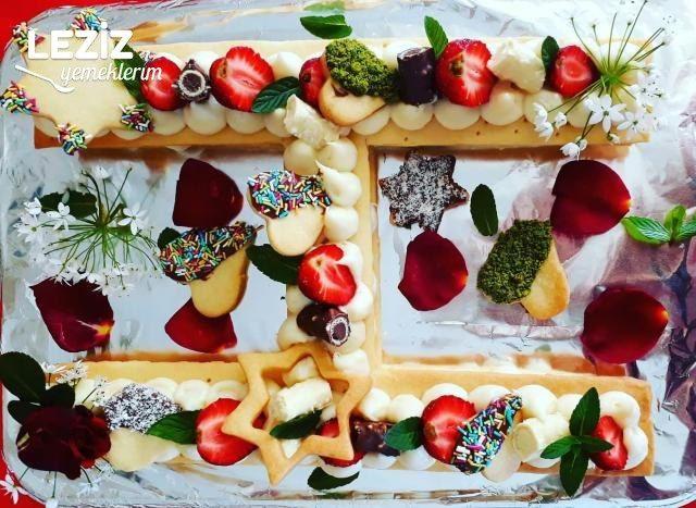 Kurabiye Harf Pasta