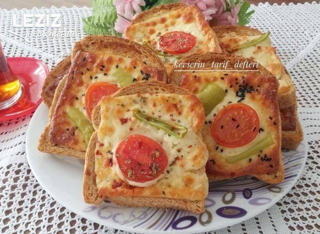Kahvaltıya Nefis Yoğurtlu Ekmekler