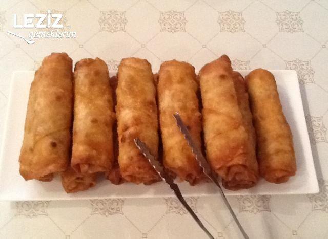 Azerbaycan Usulü Sigara Böreği