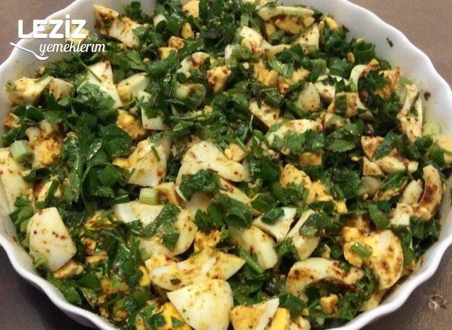 Yumurta Salatası (Gaziantep Yöresi)