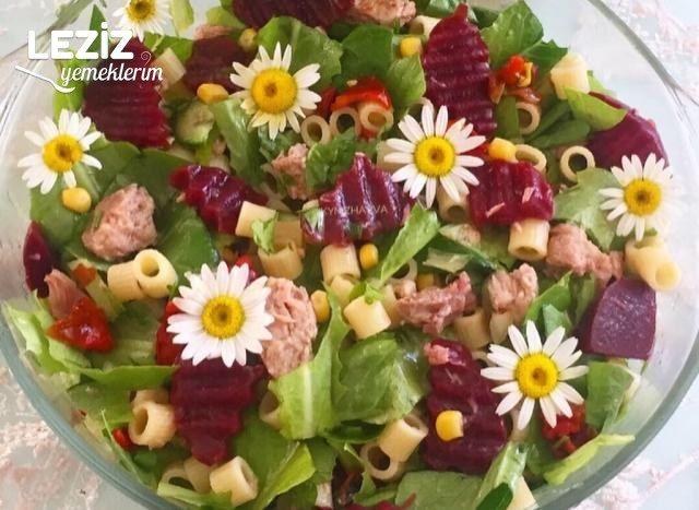 Enfes Ton Balıklı Salata